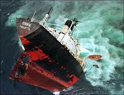 sinking alp-ship