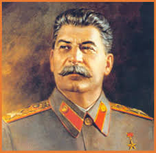 joseph stalin red yellow