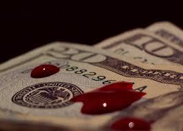 org crime blood money