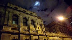 Victorian Supreme Court - night