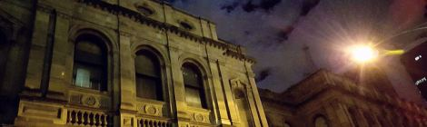 Victorian Supreme Court - night