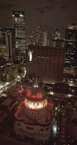 Victorian Supreme Court - sky-view-night-lights-Lady-Justice