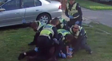 Victoria Police brutatility